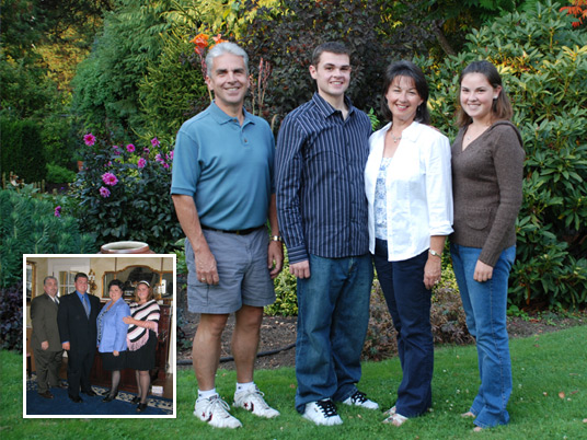 The Hess Family, Before and After Bariatric Surgery