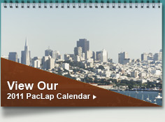 View Our 2011 Pac Lap Calendar